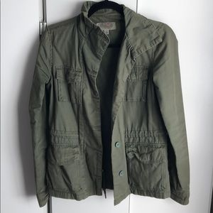 Green Military Style Jacket